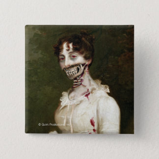 Zombie Cover Pinback Button
