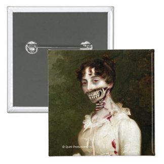 Zombie Cover Pinback Button