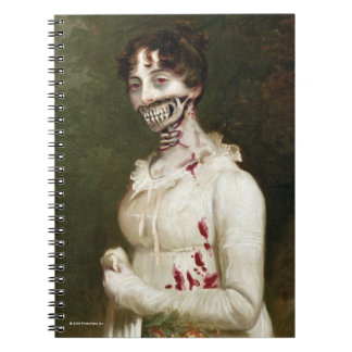 Zombie Cover Spiral Notebook