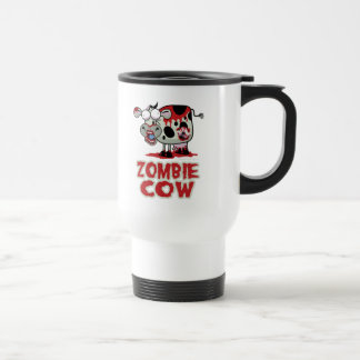 Zombie Cow 15 Oz Stainless Steel Travel Mug