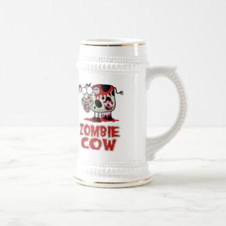 Zombie Cow 18 Oz Beer Stein
