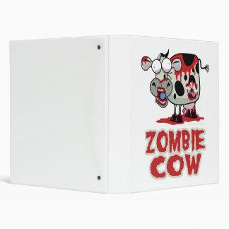 Zombie Cow 3 Ring Binders
