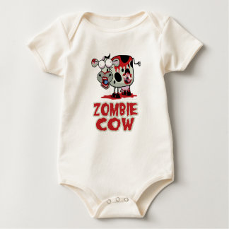 Zombie Cow Baby Bodysuit