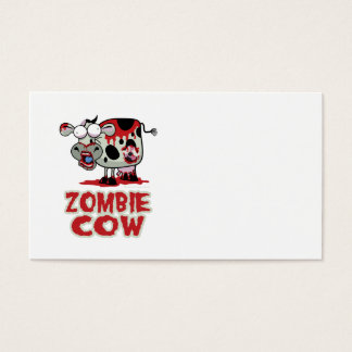 Zombie Cow Business Card