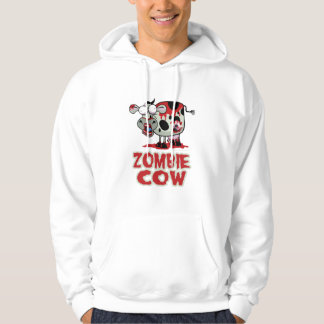 Zombie Cow Hooded Pullovers