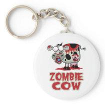Zombie Cow Keychain