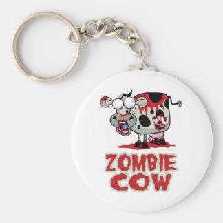 Zombie Cow Key Chain