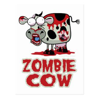 Zombie Cow Postcard