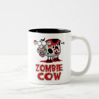 Zombie Cow Two-Tone Coffee Mug