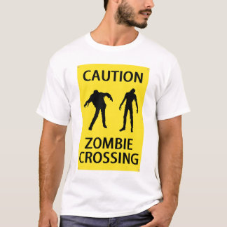 Zombie Crossing - Adult T-Shirt