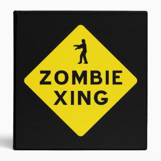 Zombie Crossing Binder