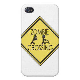 Zombie Crossing Case For iPhone 4