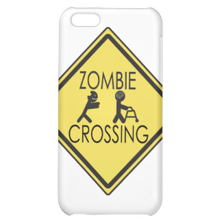 Zombie Crossing Cover For iPhone 5C