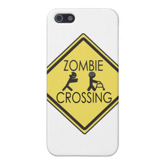 Zombie Crossing iPhone 5 Case