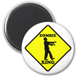 Zombie Crossing Magnet