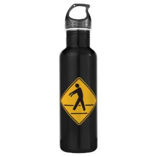 Zombie Crossing Stainless Steel Water Bottle