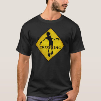 """ZOMBIE CROSSING"" T-Shirt"