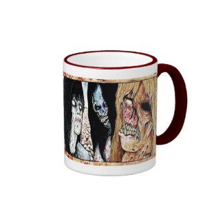 Zombie Cup Ringer Coffee Mug