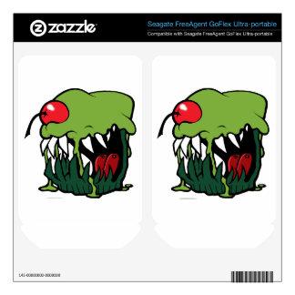 zombie cupcake external hard drive skin FreeAgent GoFlex skins