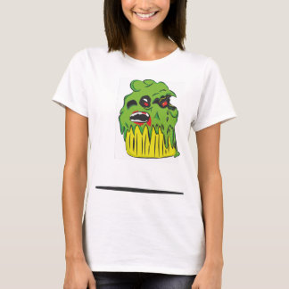 Zombie Cupcake Ladies Fitted T Shirt