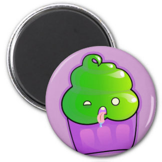 Zombie Cupcake 2 Inch Round Magnet