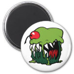 zombie cupcake magnet