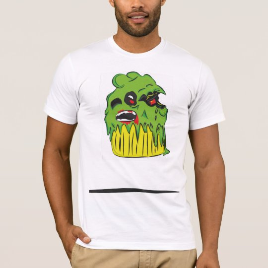 Zombie Cupcake Mens Fitted T Shirt