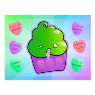 Zombie Cupcake Postcard