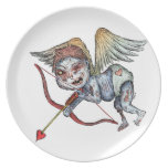 Zombie Cupid Dinner Plates