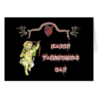 Zombie Cupid Valentine's Card