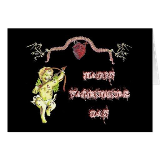 Zombie Cupid Valentine's Card