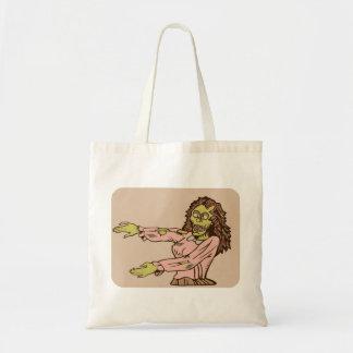 Zombie Cutie-pie Tote Bags