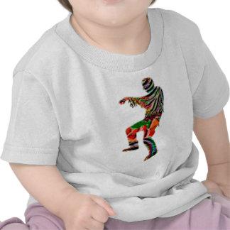 ZOMBIE DA NCE  pattern FUNNY CARTOON COMIC Tee Shirts