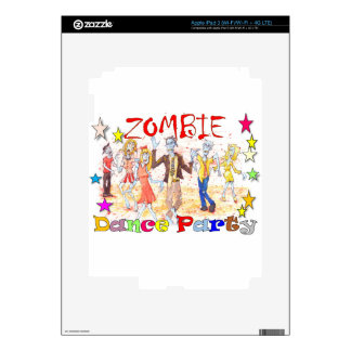 Zombie dance Party Skins For iPad 3