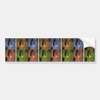 ZOMBIE DANCE - Wax n Plaster Art Bumper Sticker
