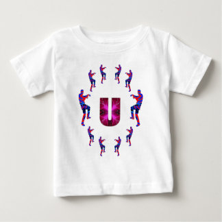 ZOMBIE Dancing with Alphabets : A to Z Baby T-Shirt