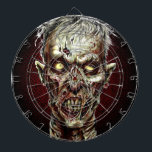 """Zombie Darts Dart Board<br><div class=""""desc"""">The perfect way to hone your zombie killing skills! This gruesomely delightful,  full color dart board will keep zombie hunters entertained for hours!</div>"""