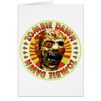 Zombie Dawn Greeting Card