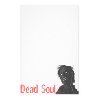 Zombie!!! Dead Soul Stationary Stationery