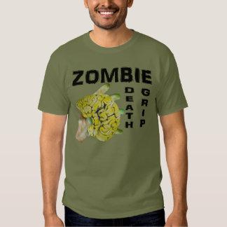 Zombie death grip. t-shirt