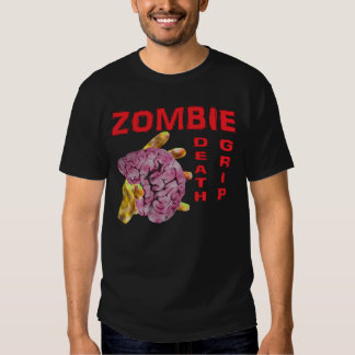 Zombie death grip. tee shirt