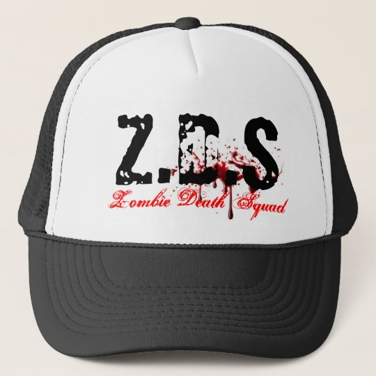 Zombie Death Squad Trucker Hat