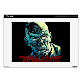 "Zombie Decals For 15"" Laptops"