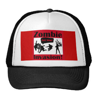 Zombie defender B Trucker Hat