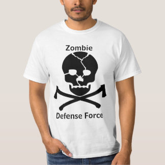 Zombie Defense Force: Skulls & Axes T-Shirt