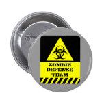 Zombie Defense Team Pins