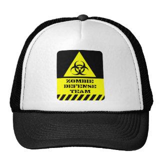 Zombie Defense Team Trucker Hat