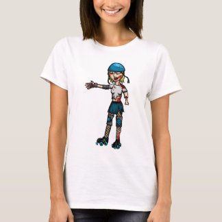 Zombie Derby Girl T-Shirt