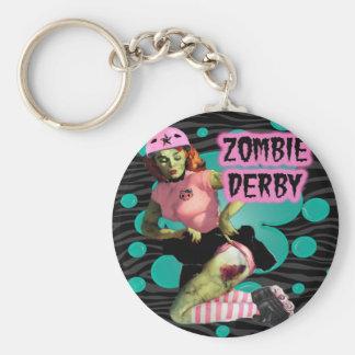 Zombie Derby Keychain