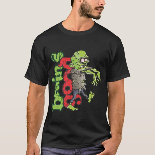 Zombie design-Brains good T-Shirt